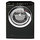 more details on Hoover DXP410AIB3 10KG 1400 Spin Washing Machine - Black.