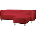 more details on ColourMatch Moda Fabric Right Hand Corner Sofa - Poppy Red