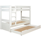 more details on Habitat Pongo White Kids Single Detachable Bunk Bed & Drawer