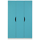 more details on Tolga 3 Door Wardrobe - Blue.