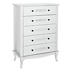 more details on Sophia 5-Drawer Chest - White.