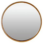 more details on Heart of House Holt Deep Round Wall Mirror - Oak Effect.