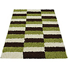more details on Verve Brick Rug 160x230cm - Green.