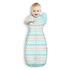 more details on Love to Dream Medium Zig Zag Swaddle 2 Pack - Multicoloured.