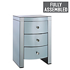 more details on Heart of House Canzano 3 Drawer Bedside Chest - Twilight.