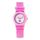 more details on Tikkers Girls' Pink Strap Watch, Purse and Necklace Set.