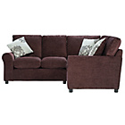 more details on Tessa Dual Facing Corner Sofa - Chocolate.