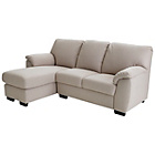 more details on Collection Milano Chaise Longue Left Hand Corner Sofa - Mink