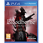 more details on Bloodborne GOTY Edition - PS4.