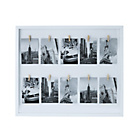 more details on Washing Line Photo Frame - White.