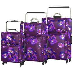 IT Worlds Lightest Small 4 Wheel Suitcase (Oriental)