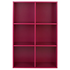 more details on Phoenix 6 Cube Storage Unit - Pink.