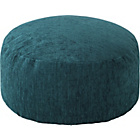 more details on HOME Tessa Fabric Footstool - Teal.