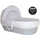 more details on Shnuggle Moses Basket with Covers & Mattress - Grey.