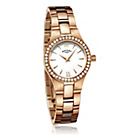 more details on Rotary Ladies' Rose Gold Plated Bracelet Watch.