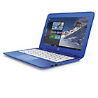 "more details on HP Stream Celeron 11"" 2GB 32GB SSD Laptop - Blue."