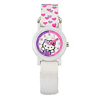 more details on Hello Kitty Girls' White and Pink Watch, Purse, Necklace Set