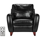 more details on Heart of House Harrow Leather Chair - Black.