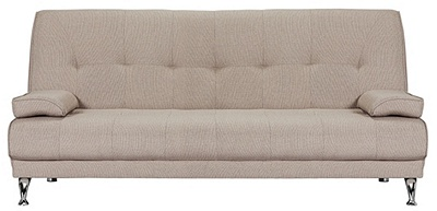 buy sicily 2 seater fabric clic clac sofa bed at argos co uk your shop for