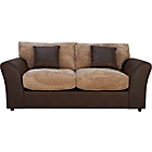 more details on HOME New Bailey Jumbo Cord Sofa Bed - Natural.