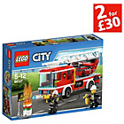 more details on LEGO Fire Ladder Truck - 60107.