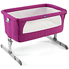 more details on Chicco Next 2 Me Side-Sleeping Crib - Fuchsia.