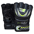 more details on RDX Junior Synthetic Leather MMA Gloves - Black