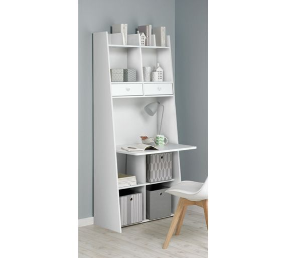 Buy Auckland Wall Unit Desk White At Your