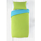 more details on ColourMatch Crystal Blue/Apple Green Bedding Set - Single.