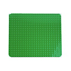 more details on LEGO DUPLO Large Green Building Plate - 2304.