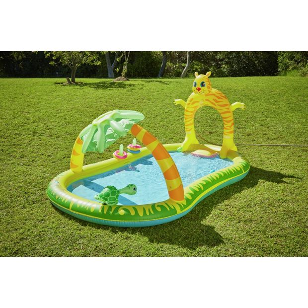 Buy chad valley jungle activity pool at your for Garden pool argos