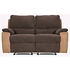 more details on Lucerne Large Fabric Recliner Sofa - Chocolate.