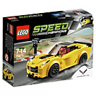 more details on LEGO Speedchamps Chevrolet Corvetter Z06 - 75870.