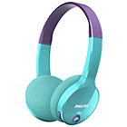 more details on Philips SHK400 Children's Bluetooth Headphones - Purple.