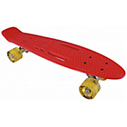 more details on Karnage Retro Skateboard - Red and Yellow.