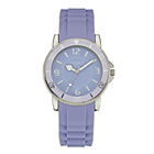 more details on Identity London Ladies' Lilac Dial Silicon Strap Watch.
