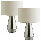 more details on Habitat Maya Touch Base Table Lamps - Set of 2.