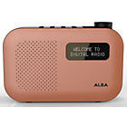 more details on Alba Mono DAB Radio - Orange.