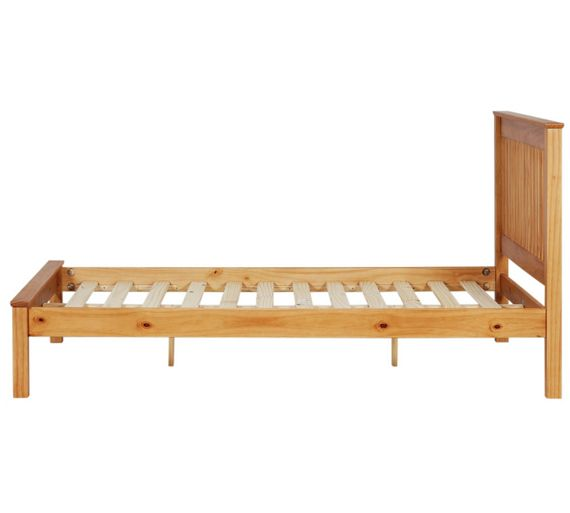 Buy Collection Aspley Double Bed Frame Oak Stain At