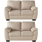 more details on Milano Fabric Regular and Regular Sofas - Mink.