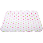 more details on East Coast Nursery Elephant Spot Coverlet - Pink.