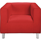 more details on ColourMatch Moda Fabric Chair - Poppy Red.
