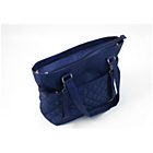 more details on Summer Infact Quilted Tote Bag - Blue.