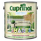 more details on Cuprinol Garden Shades 2.5L - Country Cream.