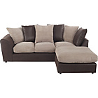 more details on New Bailey Jumbo Cord Large Right Hand Corner Sofa - Natural