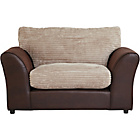 more details on HOME New Bailey Jumbo Cord Snuggler Chair - Natural.