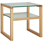 more details on Habitat Herrmann Glass Side Table