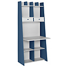 more details on Auckland Wall Unit Desk - White and Blue.