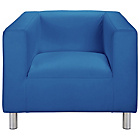 more details on ColourMatch Moda Leather Chair - Marina Blue.