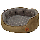 more details on Petface Check Medium Pet Bed - Grey.